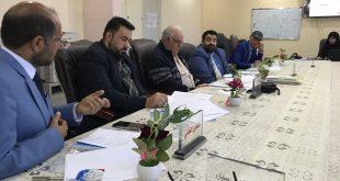 مناقشة خطة بحث لطالبة الدكتوراه كريمة عبد عيدان