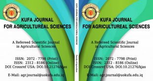 Kufa Journal of Agricultural Sciences at the College of Agriculture receives the accreditation criteria of Arcif Laboratories